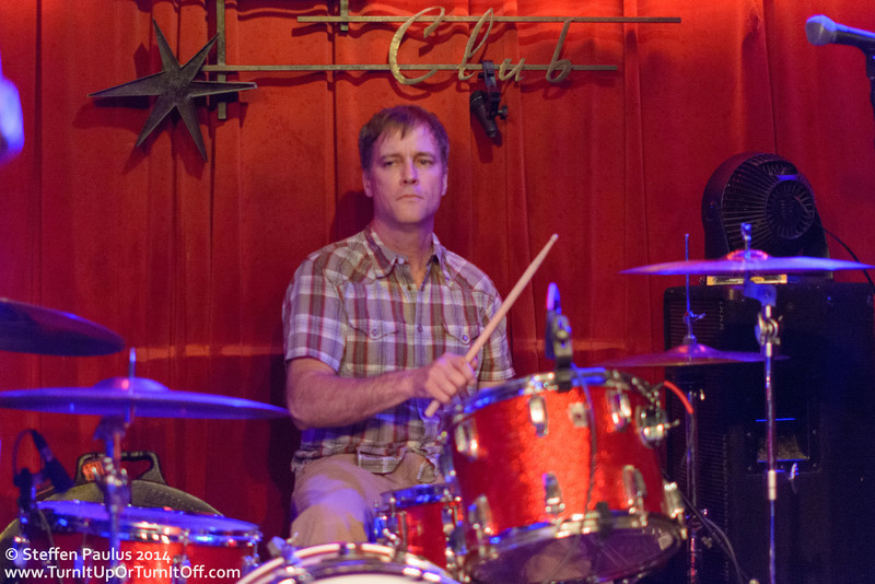 William Harries Graham and his Dad @ Continental Club, Austin, TX, 11-March 2014 (Swollen Circus)
