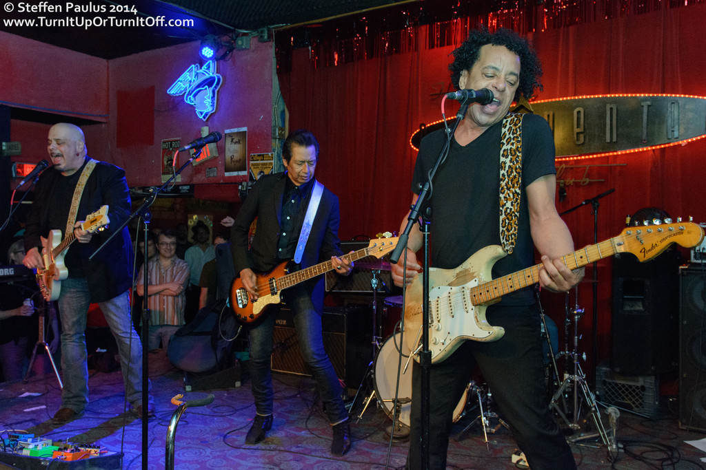 The Fauntleroys @ Continental Club, Austin, TX, 11-March 2014 (Swollen Circus)