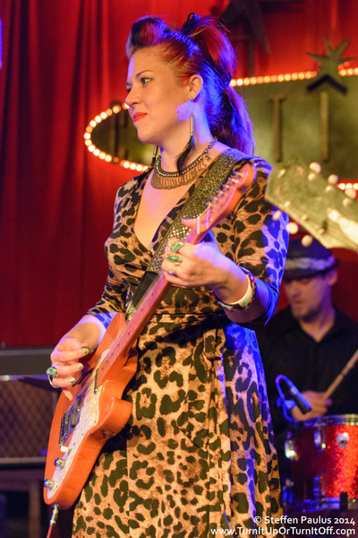 WIFEE and the HUZz BAND @ Continental Club, Austin, TX, 11-March 2014 (Swollen Circus)