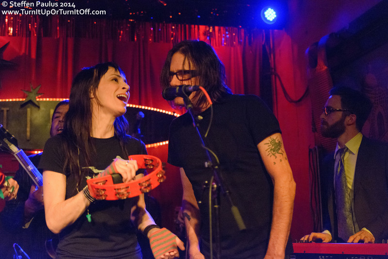 Purgatory Hill joining WIFEE and the HUZz BAND @ Continental Club, Austin, TX, 11-March 2014 (Swollen Circus)