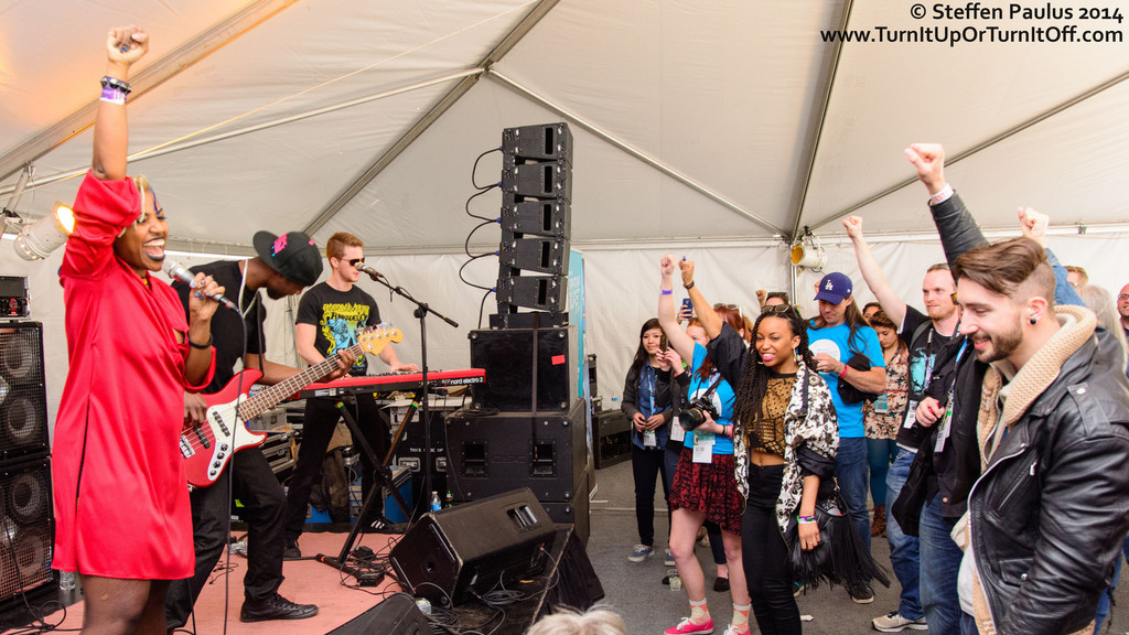Saidah Baba Talibah @ Brush Square (East Tent), Austin, TX, 12-March 2014