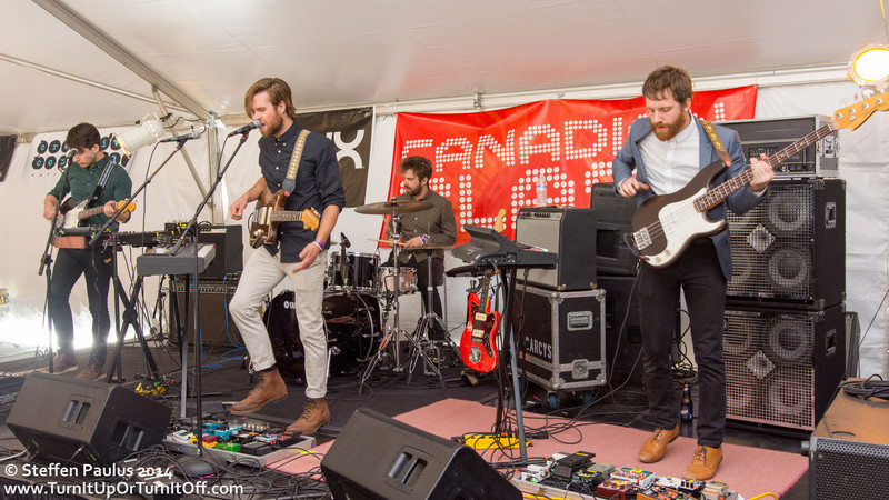 The Darcys @ Brush Square (East Tent), Austin, TX, 12-March 2014