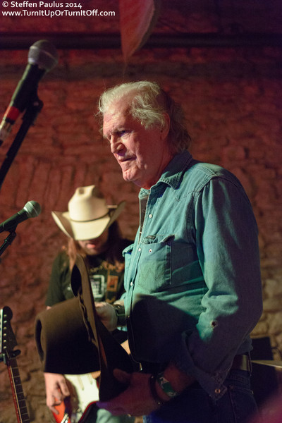 Billy Joe Shaver @ Shotguns, Austin, TX, 12-March 2014
