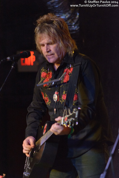 Mike Peters @ Elysium, Austin, TX, 12-March 2014