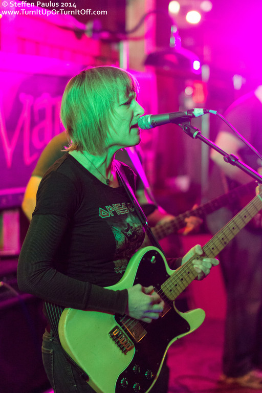 Sally Crewe and The Sudden Moves @ The Ginger Man, Austin, TX, 13- March 2014