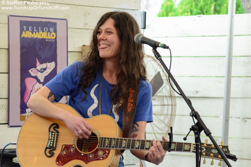 Lilly Hiatt @ Lucy's Fried Chicken, Austin, TX, 14-March 2014