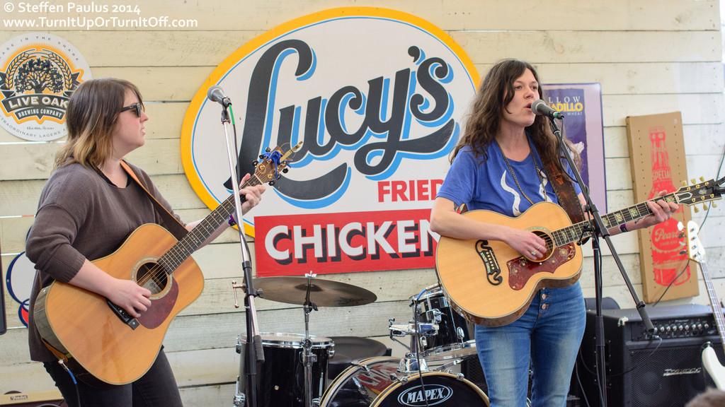 Lilly Hiatt @ Lucy's Fried Chicken, Austin, TX, 14-March 2014
