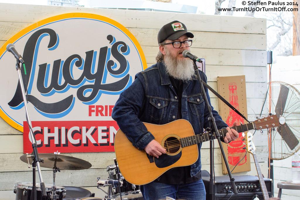 Otis Gibbs @ Lucy's Fried Chicken, Austin, TX, 14-March 2014