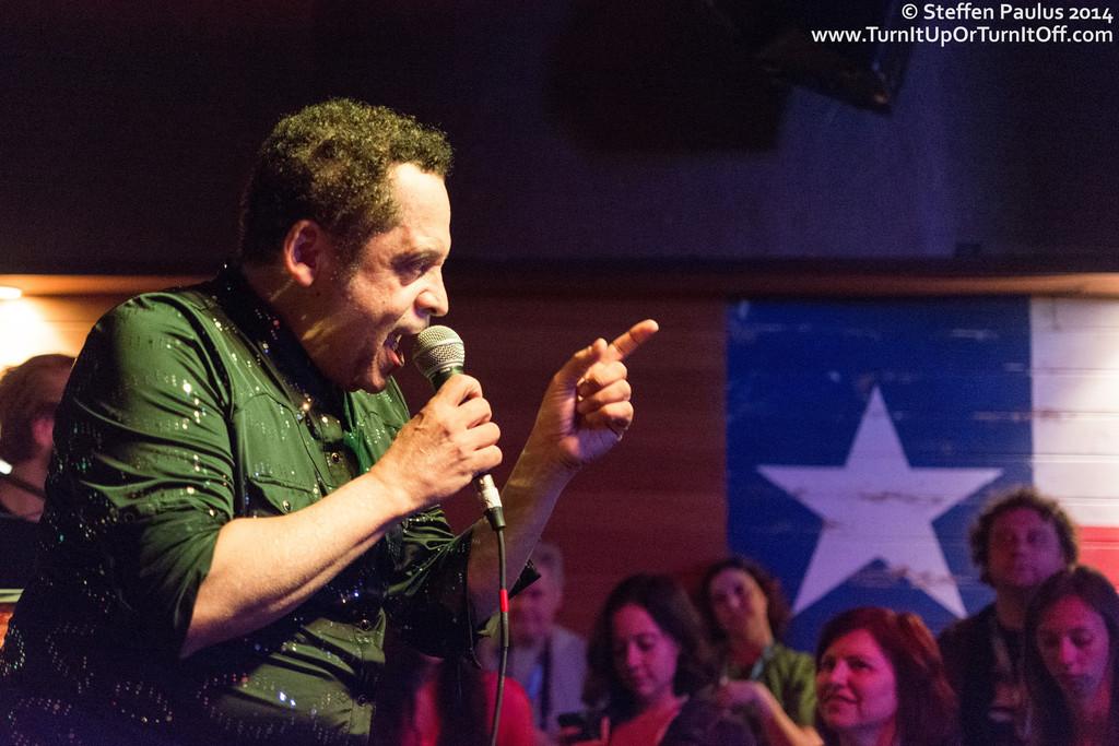 Garland Jeffreys @ Shotguns, Austin, TX, 14-March 2014