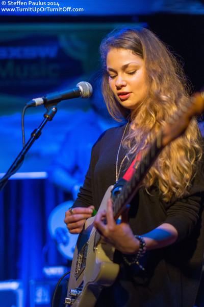 Leah Mason @ Maggie Mae's Gibson Room, Austin, TX, 14-March 2014