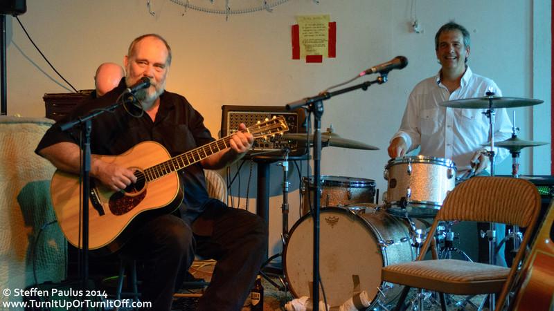 """Bears And Bastards"": Daren Hess and Jon Dee Graham @ Continental Club Gallery, Austin, TX, 15-March 2014"