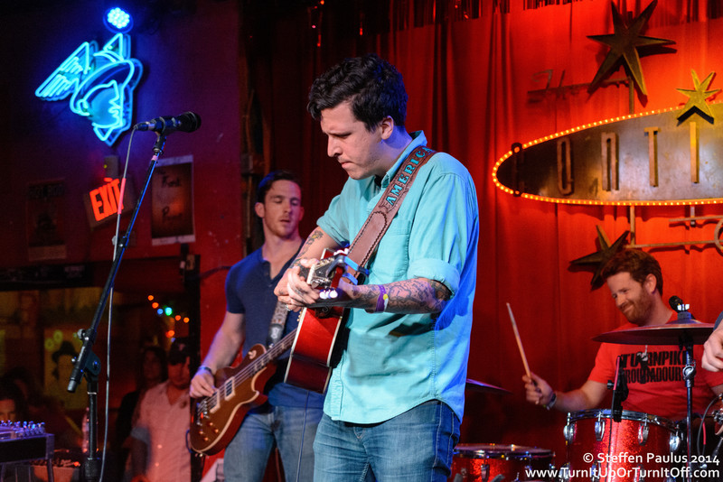 American Aquarium @ Continental Club, Austin, TX, 15-March 2014