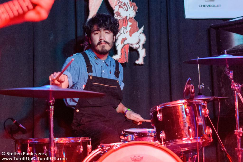 The Tontons @ Dirty Dog Bar, Austin, TX, 15-March 2014