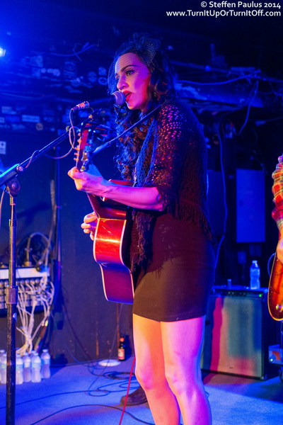 Lindi Ortega + Harlan Pepper + Lee Harvey Osmond @ Horseshoe Tavern, Toronto, ON, 19-June 2014