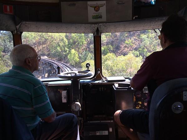 2014-07-09 Savannahlander Train Cairns to Almaden
