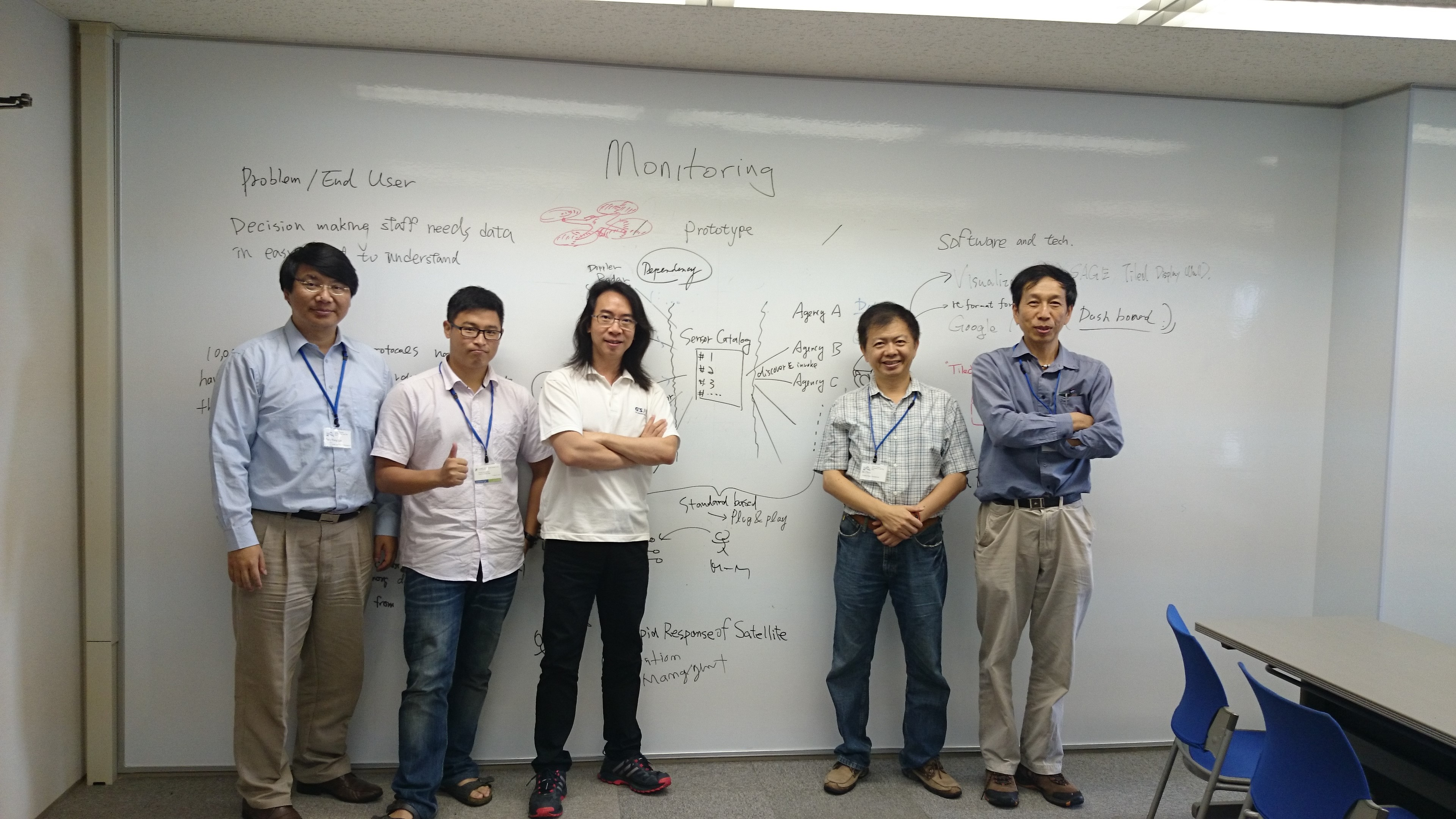GIS.FCU赴日參與湘南會議(Water Disaster and Big Data at Shonan Meeting)