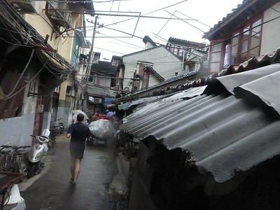 Going through the Shanghai streets