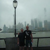 """The two runners at """"The Bund"""""""