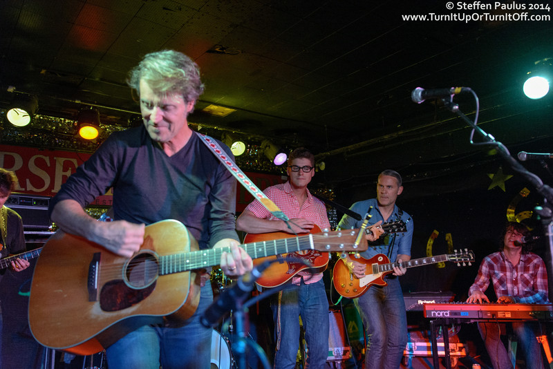 Jim Cuddy And Sons @ James Gray Memorial @ Horseshoe Tavern, Toronto, ON, 18-August 2014