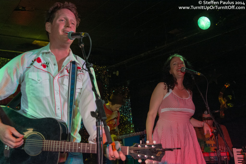 NQ Arbuckle w/ Luke Doucet and Carolyn Mark @ James Gray Memorial @ Horseshoe Tavern, Toronto, ON, 18-August 2014
