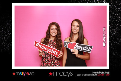 "2014.09.06 Macy's North Point Mall Back to School with Meredith Foster  ""Like"" us at www.facebook.com/omgbooth to TAG + SHARE + DOWNLOAD your photos"