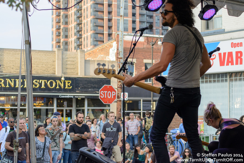 Hands And Teeth @ Junction Music Festival, Toronto, ON - Mavety Street Stage, 20-September 2014