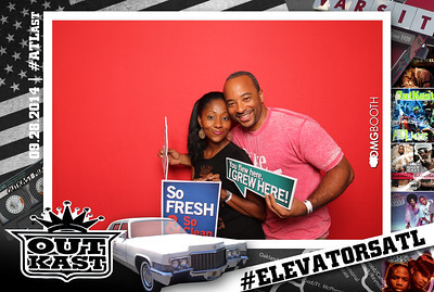 """2014.09.28 #ElevatorsATL Outkast 20yr Anniversary Concert #ATLast  """"Like"""" us at www.facebook.com/omgbooth to TAG + SHARE + DOWNLOAD your photos  This event was brought to you by The Common Good Agency, Deep Eddy Vodka, The Influence Factory, jimadams.farm and Urban Hang Suite"""
