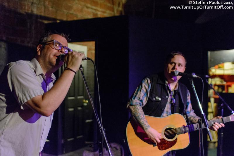 Jon Snodgrass joins Austin Lucas @ The Cave, Toronto, ON, 2-October 2014