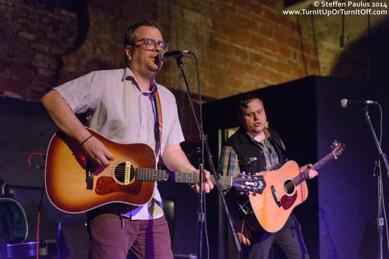Austin Collins joins Jon Snodgrass @ The Cave, Toronto, ON, 2-October 2014