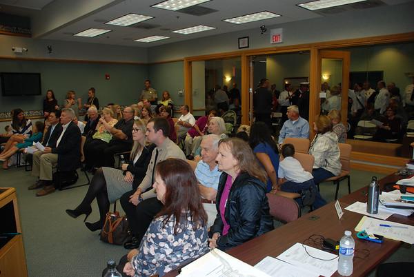 2014-10-02 Village Board Meeting - Fire Dept Promotions