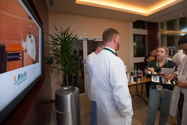 20141124 - Dr. Barkin surprise reception