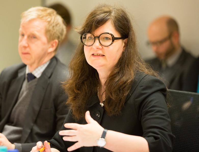 Ms Bergdis Ellertsdottir, Ambassador, Head of Iclandic Mission to the EU