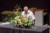 03-18-14 De Young Museum, Bouquets to Art 2014: Ron Morgan demo