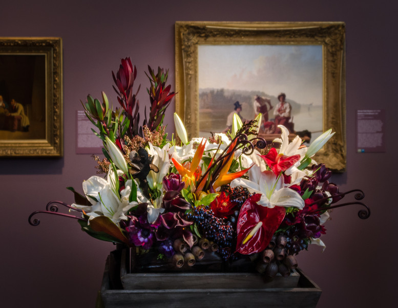 03-18-14 De Young Museum, Bouquets to Art 2014