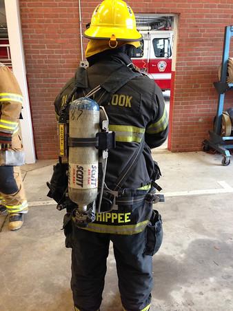 2/15/2014 Firefighter I class PPE & SCBA Training