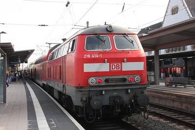 2nd-6th June 2014 Ganz Deutschland mit 103er und 218er