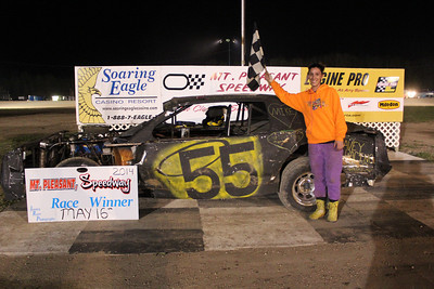 Feature winner #55 Amber Eberspeaker