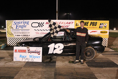 Feature winner #12 Charles Peterson