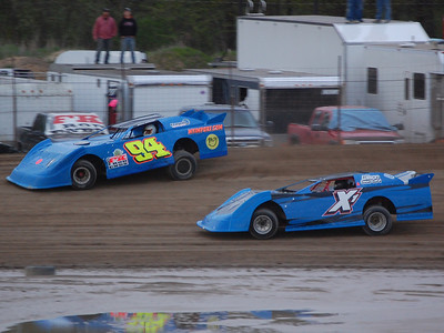 #94 Bill Bray and #X1 Justin Robinson
