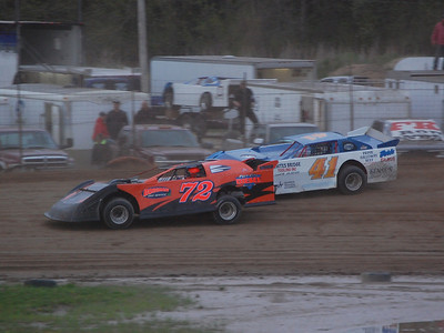 #72 Kyle Borgman and #41 Jason Playter Jr.