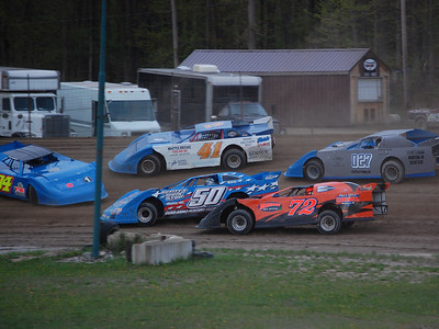 #41 Jason Playter Jr., #50 Scott Phillips, #72 Kyle Borgman, #027 Jordan Erickson