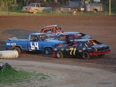 #64 Steve Keeler Jr., #71 Scott Boyd, #21 Ken Patterson and #22 Jeremy McCracken