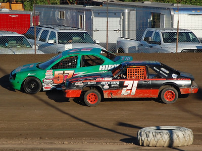 #57 Randy Kretzinger and #21 Ken Patterson