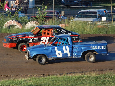 #64 Steve Keeler Jr. and #21 Ken Patterson