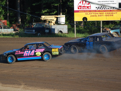 #614 Dustin Weber and #08 Doug Patterson
