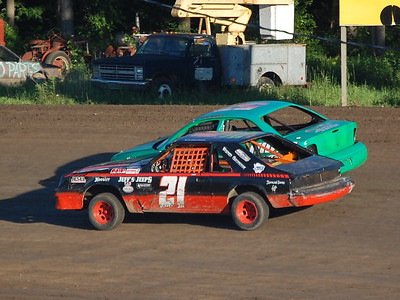#21 Ken Patterson and #57 Randy Kretzinger