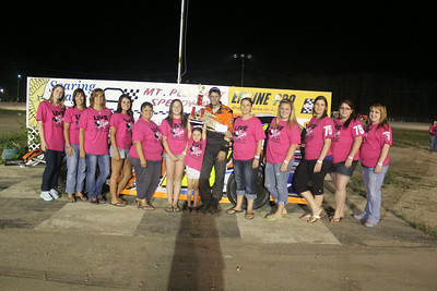 2nd place #15 Rich Robinson Jr. with the Modified girls