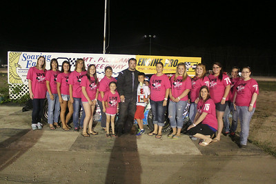 3rd place #43 Kevin Miller with the Modified girls