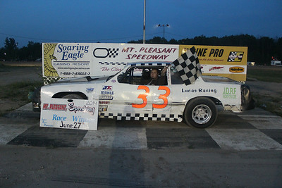 Feature winner #33 Doug McKeown