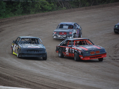 #21 Ken Patterson, #95 Brendan Powell and #22 Jeremy McCracken